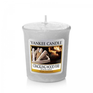 Yankee Candle Crackling Wood Fire - sampler zapachowy - e-candlelove