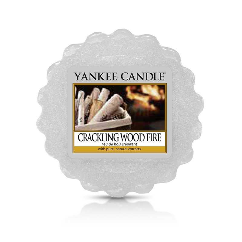Yankee Candle Crackling Wood Fire - wosk zapachowy - e-candlelove