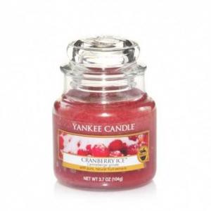 Yankee Candle Cranberry Ice - mała świeca zapachowa - e-candlelove