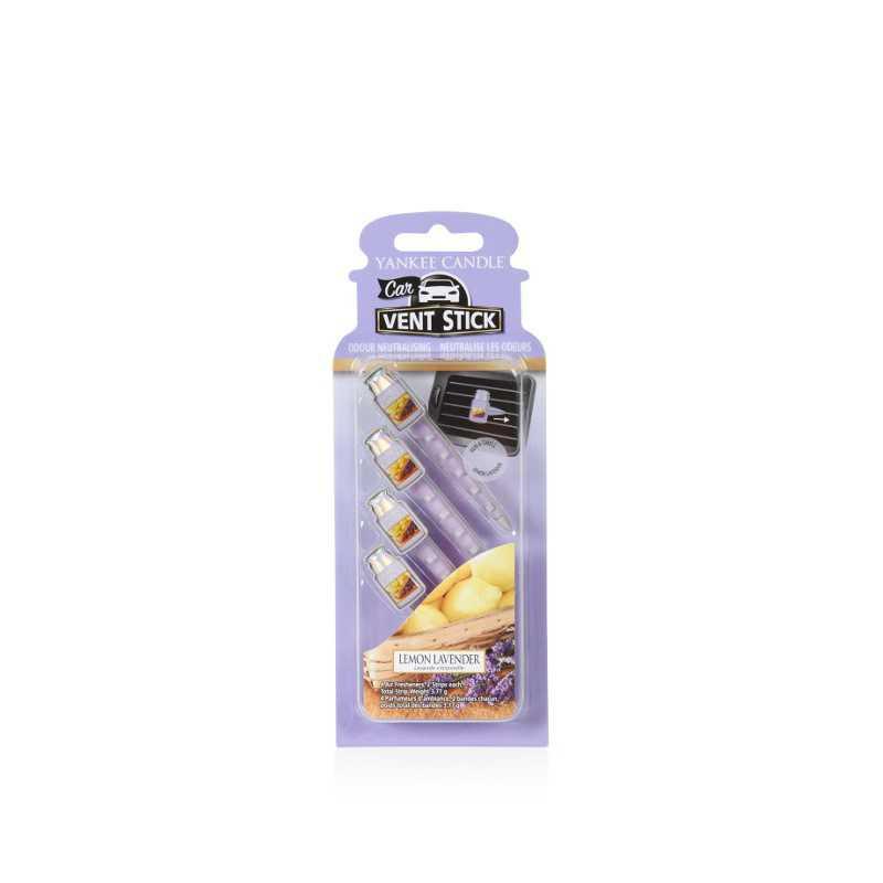 Yankee Candle Lemon Lavender Car Vent Stick - zapach samochodowy - e-candlelove