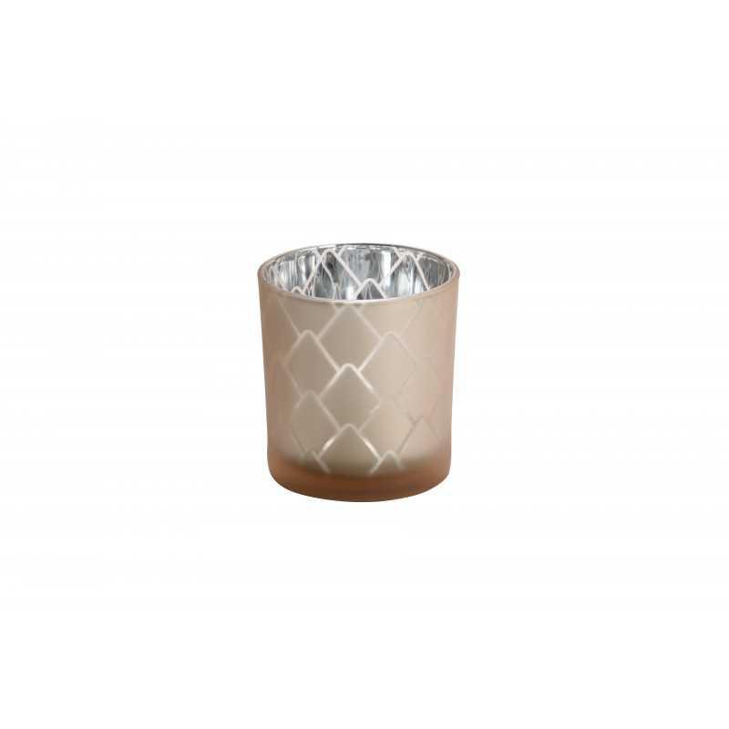 Yankee Candle Modern pinecone - świecznik na samplery beżowy - e-candlelove