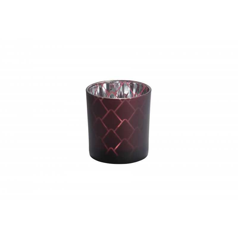 Yankee Candle Modern pinecone - świecznik na samplery brązowy - e-candlelove