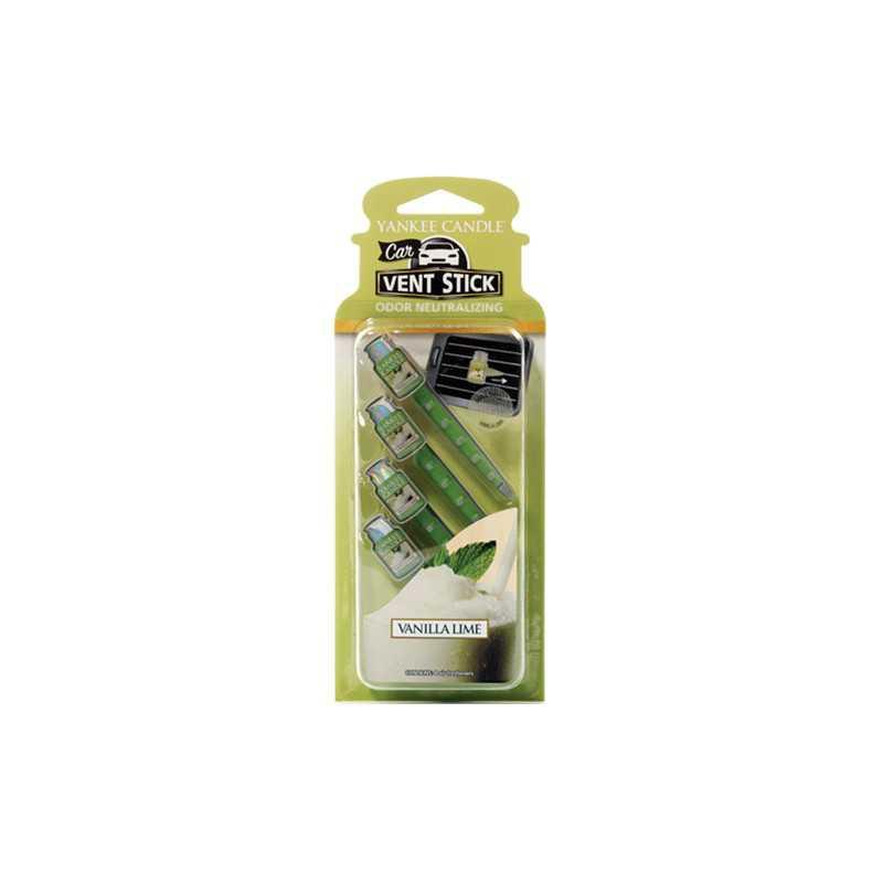 Yankee Candle Vanilla Lime Car Vent Stick - zapach samochodowy - e-candlelove