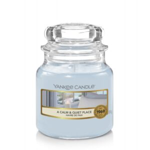 Yankee Candle A Calm & Quiet Place - mała świeca zapachowa - e-candlelove