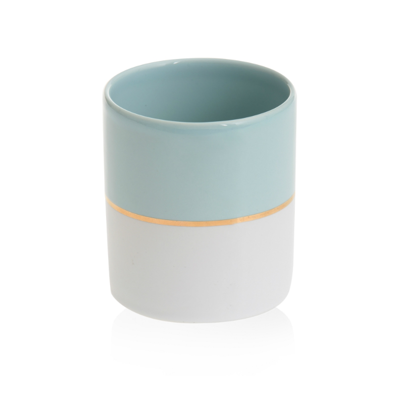 Yankee Candle Simply Pastel - świecznik na samplery niebieski - e-candlelove