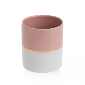 Yankee Candle Simply Pastel - świecznik na samplery różowy - e-candlelove