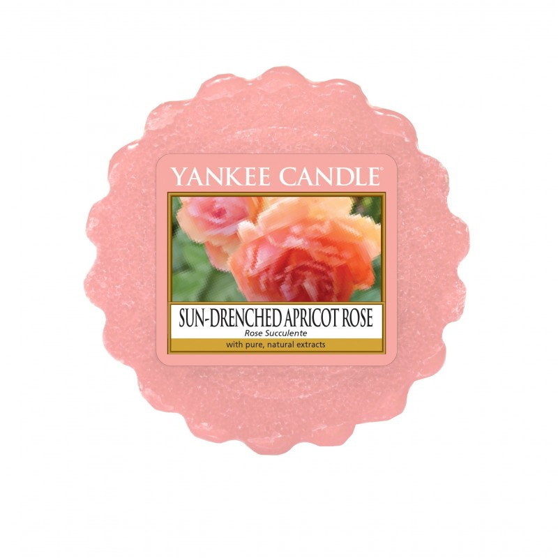 Yankee Candle Sun-Drenched Apricot Rose - wosk zapachowy - e-candlelove