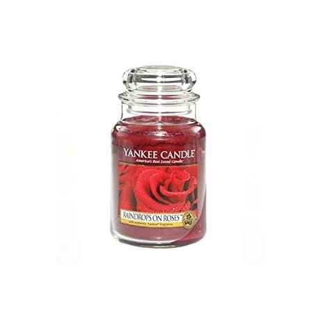 Yankee Candle Raindrops on Roses - duża świeca zapachowa - e-candlelove