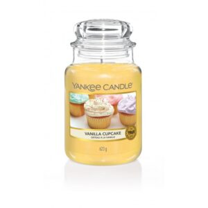 Yankee Candle Vanilla Cupcake - duża świeca zapachowa - Candlelove