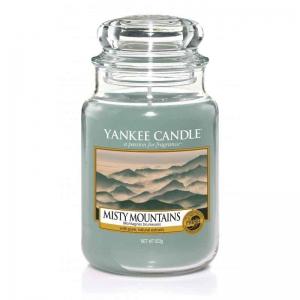 Yankee Candle Misty Mountains - duża świeca zapachowa - e-candlelove