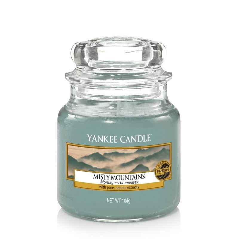 Yankee Candle Misty Mountains - mała świeca zapachowa - e-candlelove