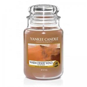 Yankee Candle Warm Desert Wind - duża świeca zapachowa - e-candlelove