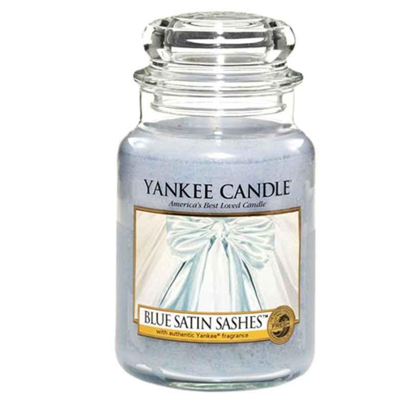 Yankee Candle Blue Satin Sashes Duża świeca Zapachowa