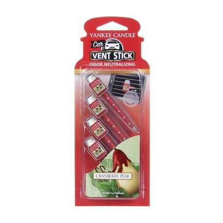 Yankee Candle Cranberry Pear Car Vent Stick - zapach samochodowy - e-candlelove