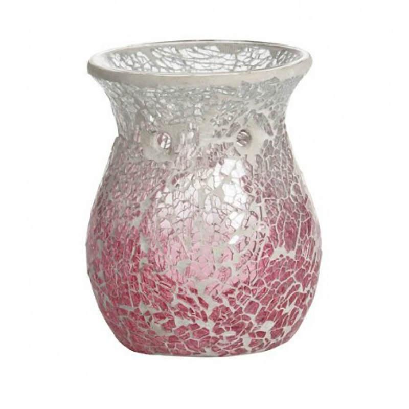 Yankee Candle Pink Fade Crackle - kominek zapachowy-e-candlelove