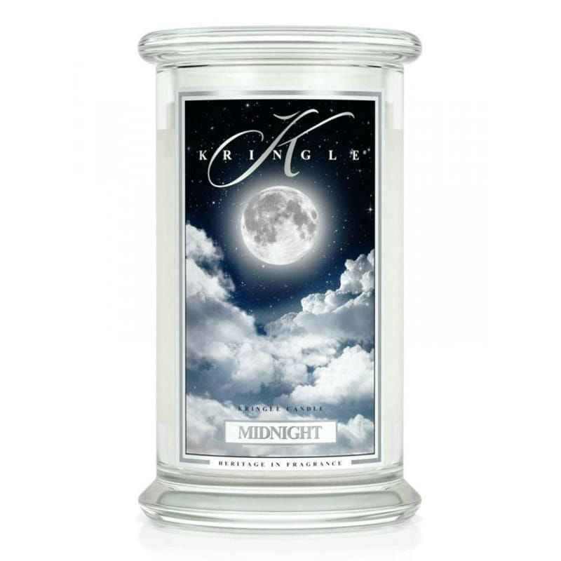 Kringle Candle Midnight - duża świeca zapachowa - e-candlelove