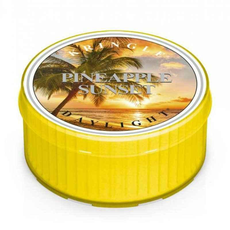 Kringle Candle Pineapple Sunset - daylight zapachowy - e-candlelove