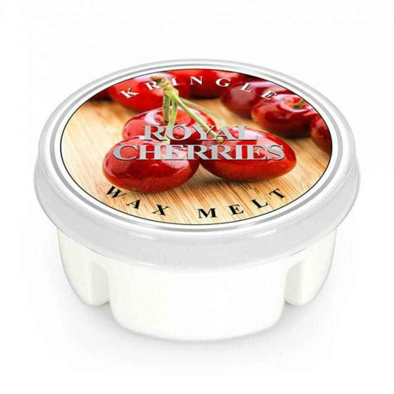 Kringle Candle Royal Cherries - wosk zapachowy - e-candlelove