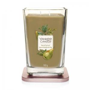 Yankee Candle Elevation Pear & Tea Leaf - duża świeca zapachowa - e-candlelove
