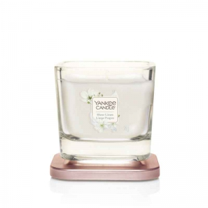 Yankee Candle Elevation Sheer Linen - mała świeca zapachowa - e-candlelove