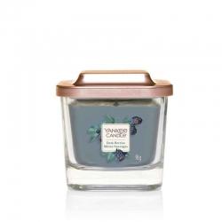 Yankee Candle Dark Berries Elevation Coll. W/Plt Lid - mała świeca zapachowa - e-candlelove - candlelove