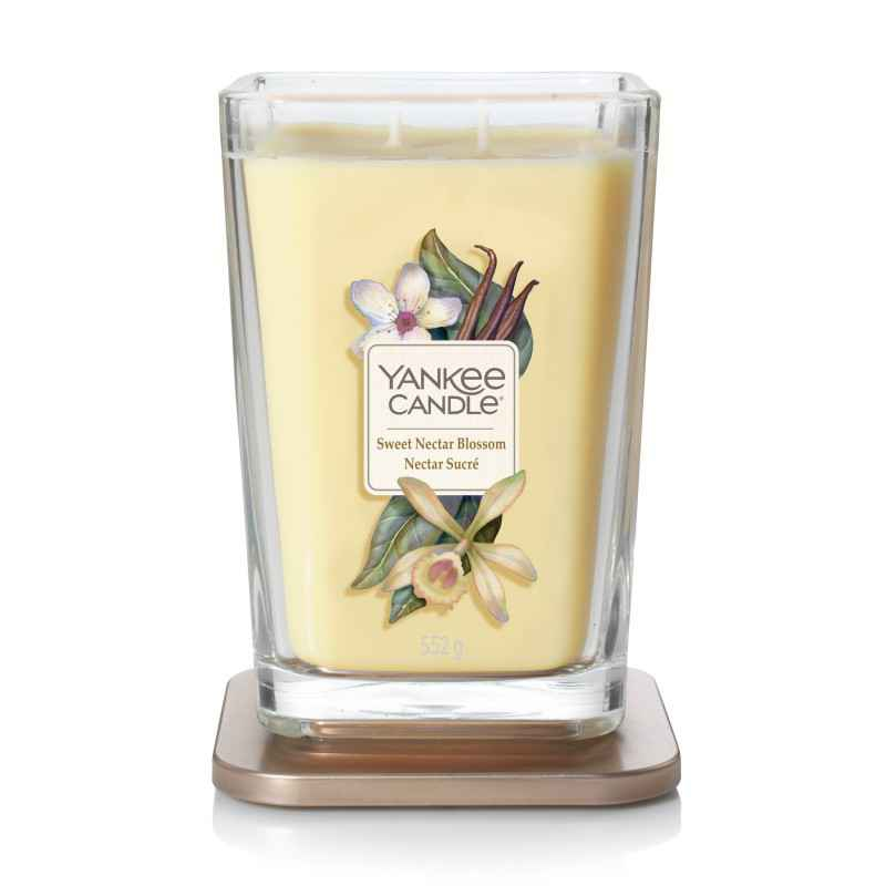Yankee Candle Elevation Sweet Nectar Blossom - duża świeca zapachowa - e-candlelove