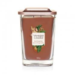Yankee Candle Sweet Orange Spice Elevation Coll. W/Plt Lid - duża świeca zapachowa - candlelove