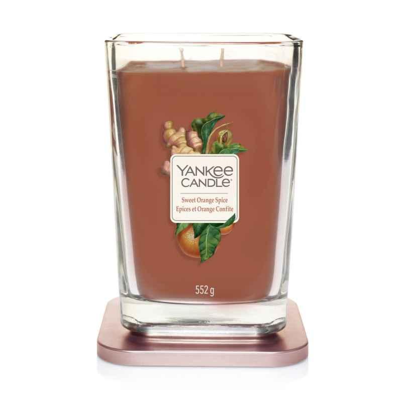 Yankee Candle Elevation Sweet Orange Spice - duża świeca zapachowa - e-candlelove