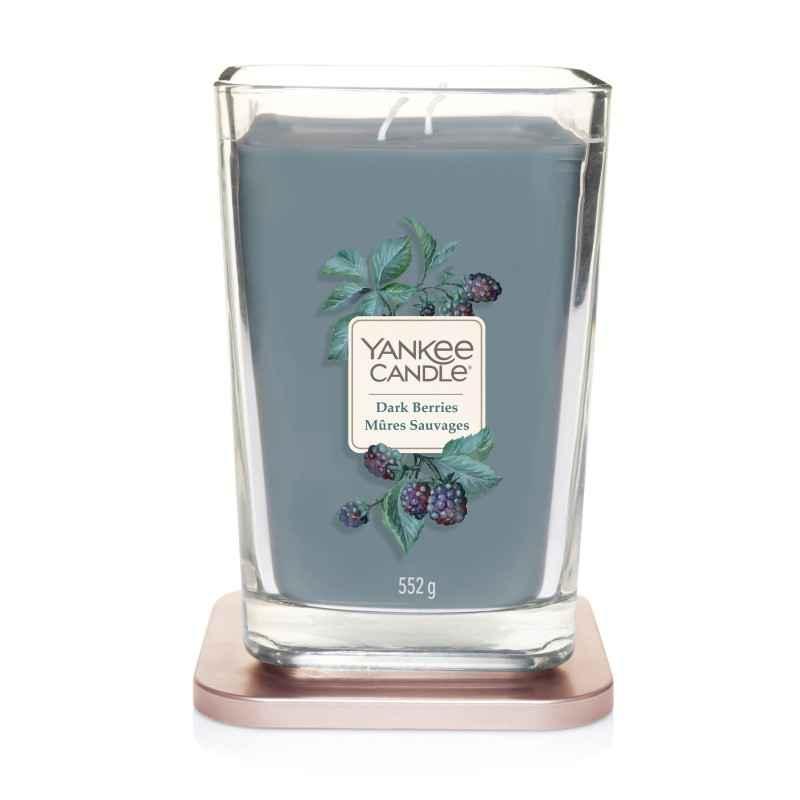 Yankee Candle Elevation Dark Berries - duża świeca zapachowa - e-candlelove