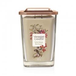 Yankee Candle Velvet Woods Elevation Coll. W/Plt Lid - duża świeca zapachowa - candlelove