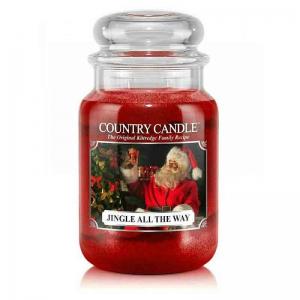 Country Candle Jingle All The Way - duża świeca zapachowa - e-candlelove