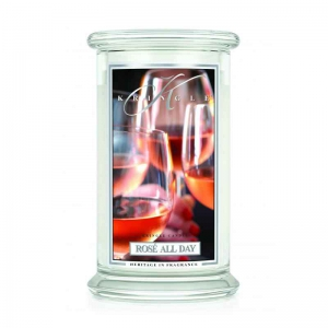 Kringle Candle Rose All Day - duża świeca zapachowa - e-candlelove