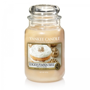 Yankee Candle Luscious Pumpkin Trifle - duża świeca zapachowa - e-candlelove
