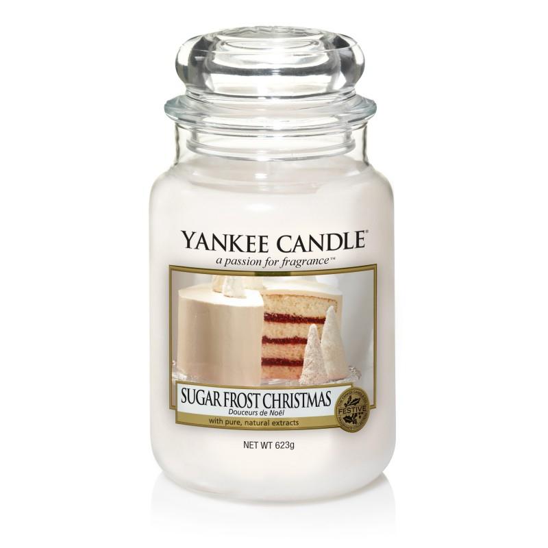 Yankee Candle Sugar Frost Christmas - duża świeca zapachowa - e-candlelove