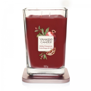 Yankee Candle Elevation Holiday Pomegranate - duża świeca zapachowa - e-candlelove