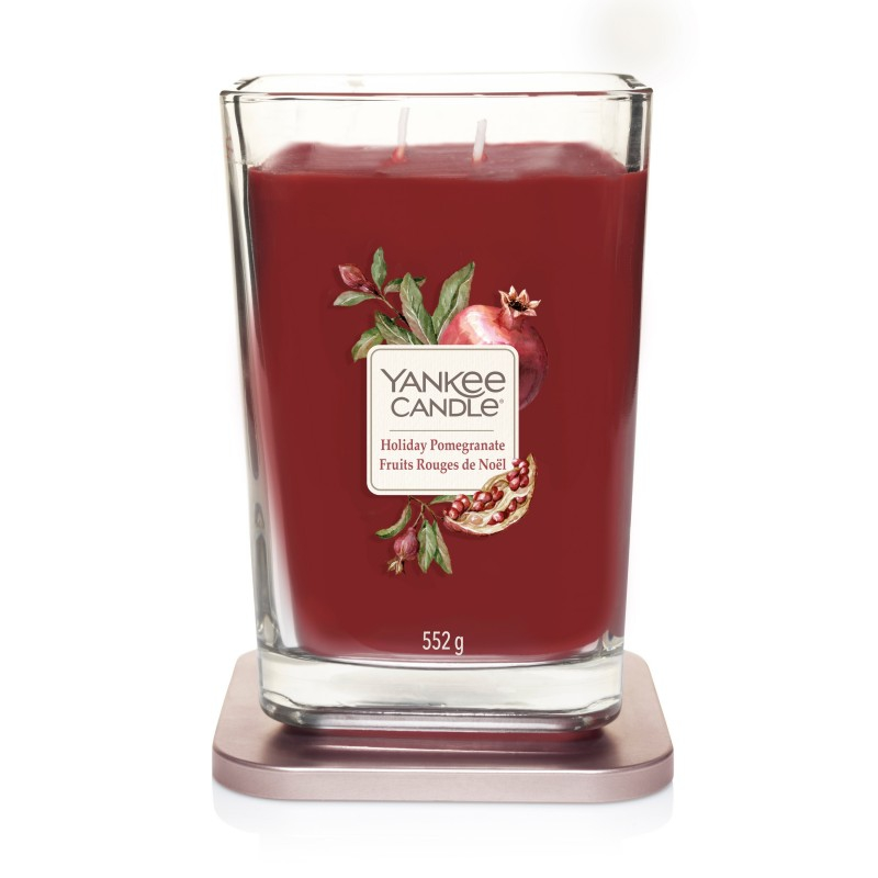 Yankee Candle Elevation Holiday Pomegranate - duża świeca zapachowa - e-candlelove