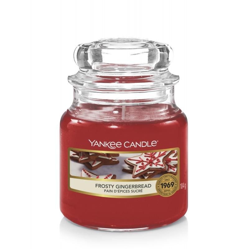 Yankee Candle Frosty Gingerbread - mała świeca zapachowa - e-candlelove