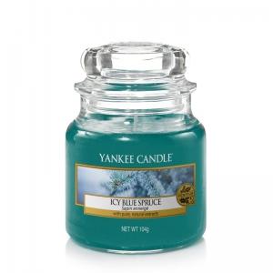 Yankee Candle Icy Blue Spruce - mała świeca zapachowa - e-candlelove