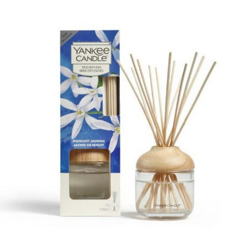 Yankee Candle Midnight Jasmine - pałeczki zapachowe - candlelove