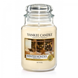 Yankee Candle Winter Wonder - duża świeca zapachowa - e-candlelove