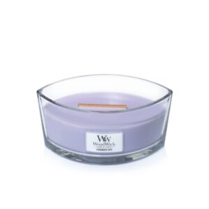 WoodWick Lavender Spa - świeca zapachowa Elipsa - candlelove