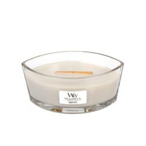 WoodWick Warm Wool - świeca zapachowa Elipsa - candlelove