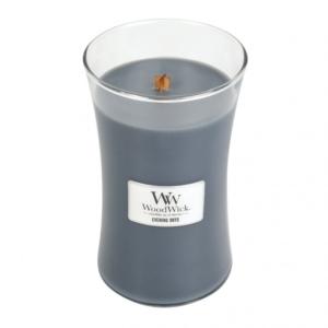 WoodWick Evening Onyx - duża świeca zapachowa - candlelove