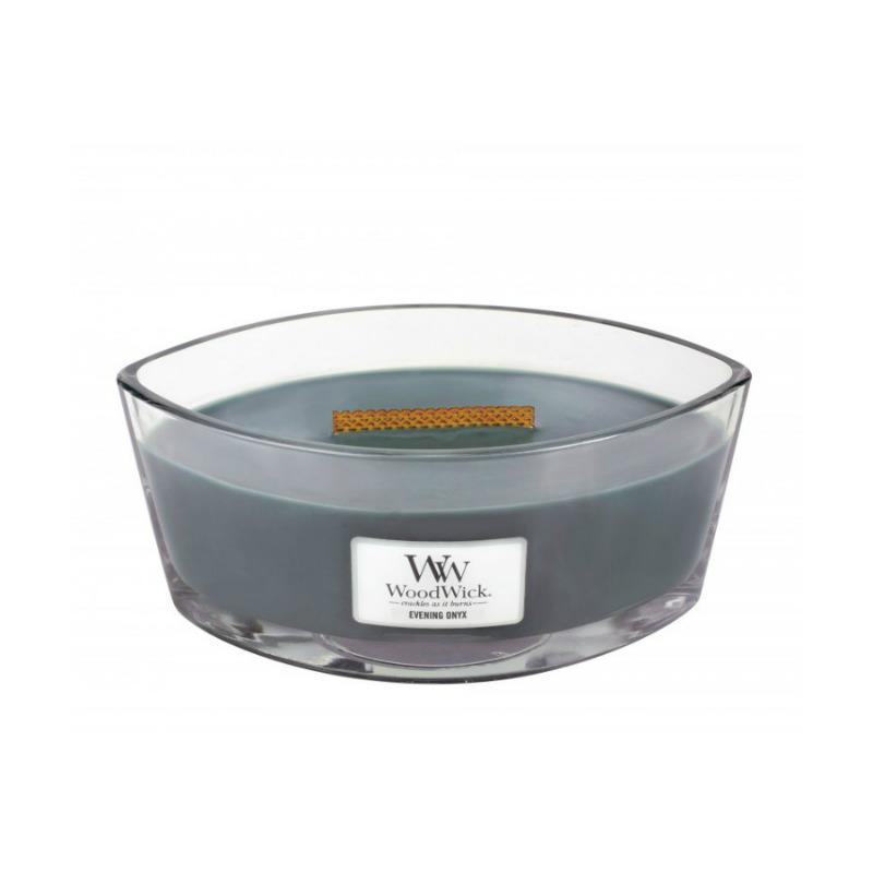 WoodWick Evening Onyx - świeca zapachowa Elipsa - candlelove