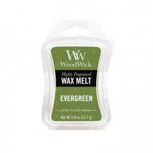 WoodWick Evergreen - wosk zapachowy - candlelove
