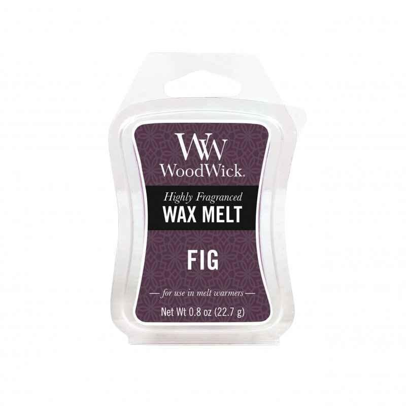 WoodWick Fig - wosk zapachowy - e-candlelove