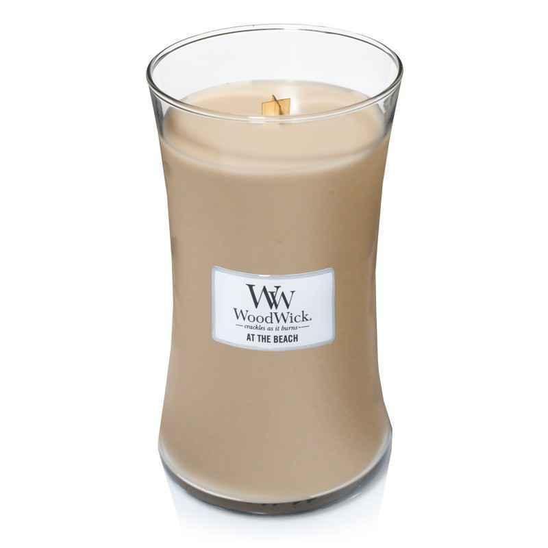 WoodWick At The Beach - duża świeca zapachowa - candlelove