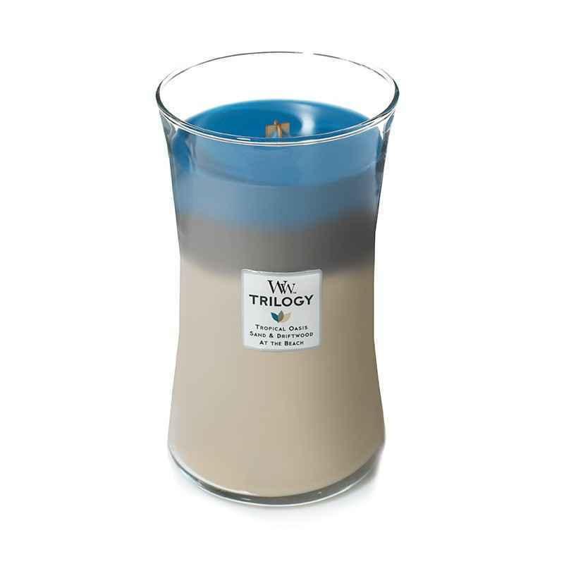 WoodWick Nautical Escape - duża świeca zapachowa - candlelove