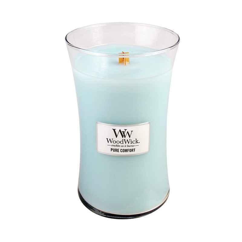 WoodWick Pure Comfort - duża świeca zapachowa - candlelove