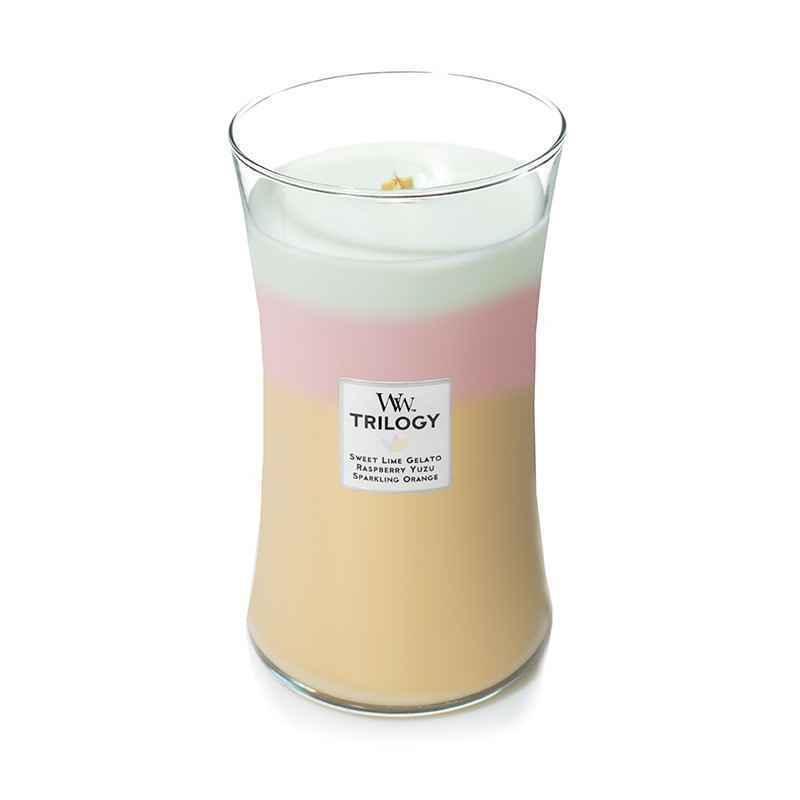 WoodWick Summer Sweets - duża świeca zapachowa - candlelove